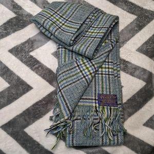Vintage Pendleton Wool Scarf Plaid